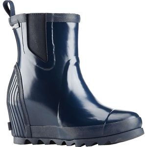 Sorel Chelsea wedge rain boot